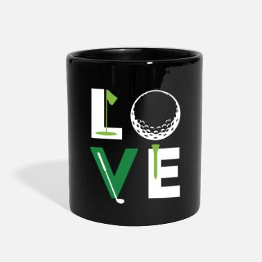 Love Golfer Love Golf T Shirt - Full Color Mug