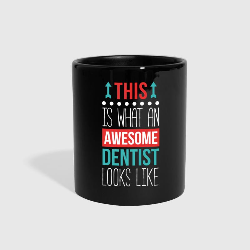 Dentist Awesome Professions Dental T Shirt - Full Color Mug