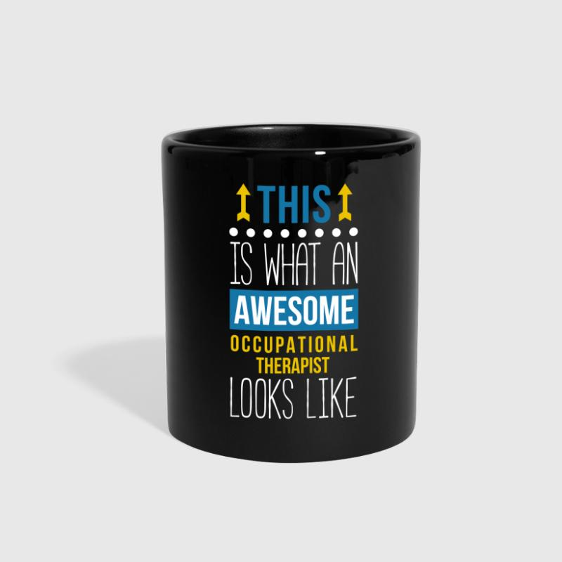 Awesome Occupational Therapist Professions T Shirt - Full Color Mug