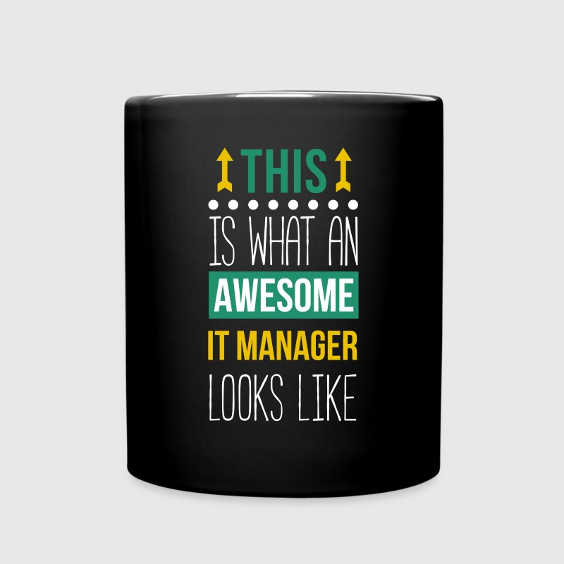 Awesome IT Manager Professions T Shirt - Full Color Mug