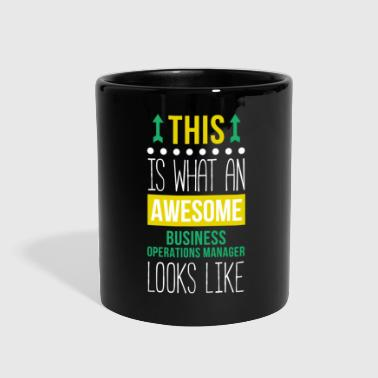 Manager Awesome Business Operations Manager T Shirt - Full Color Mug