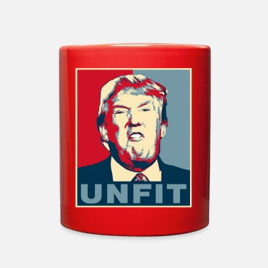 Trump is Unfit Poster - Full Color Mug