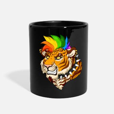 Mohawk Punk/Mohawk Tiger - Full Color Mug