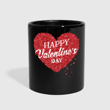 happy valentine's day, valentine - Full Color Mug
