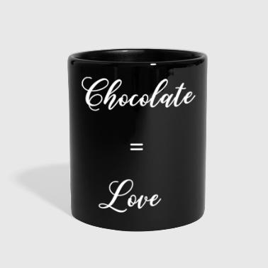 Chocolate Equals Love - Full Color Mug