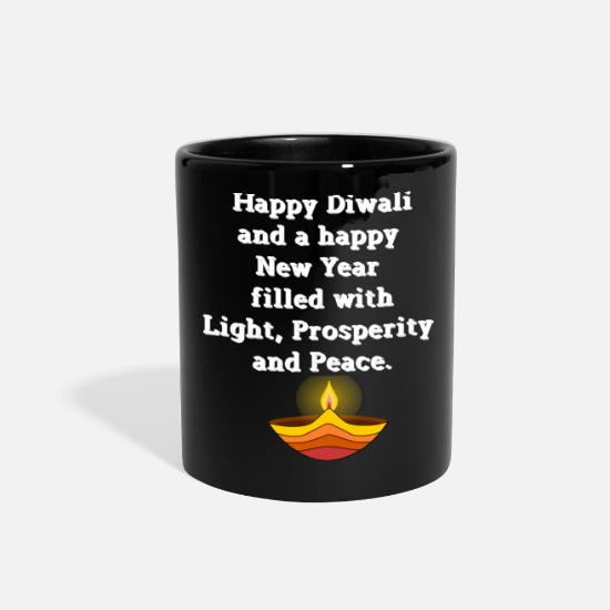 Light Mugs & Drinkware - Dawali Celebration Of The Light Is Celebrated In I - Full Color Mug black