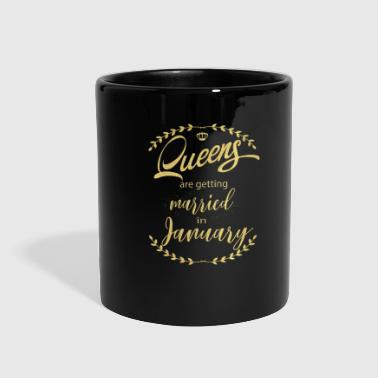 queens_are__getting_married_in_january - Full Color Mug