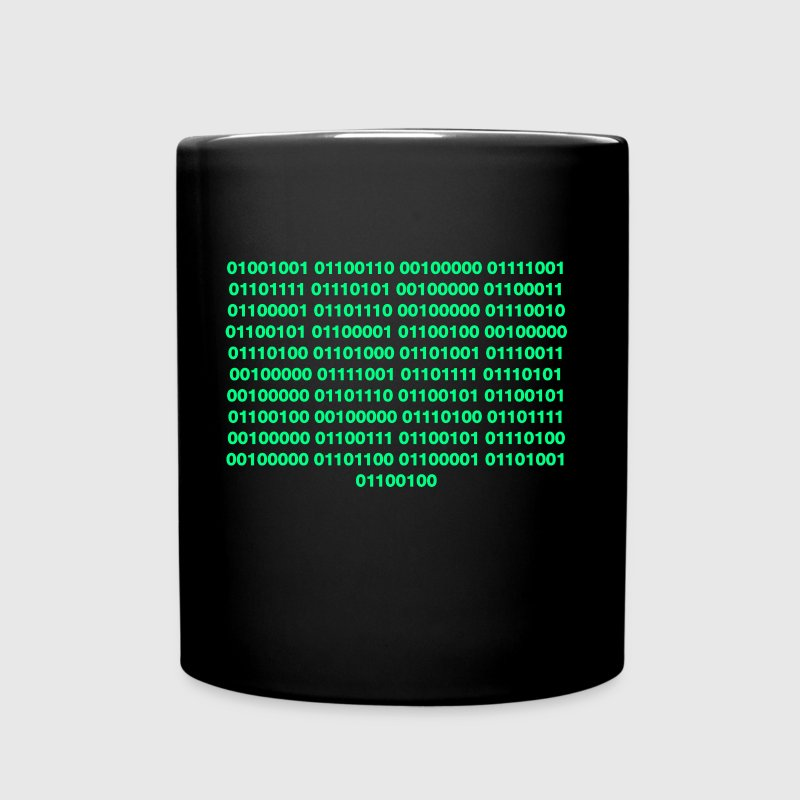 Binary – Get Laid - Full Color Mug