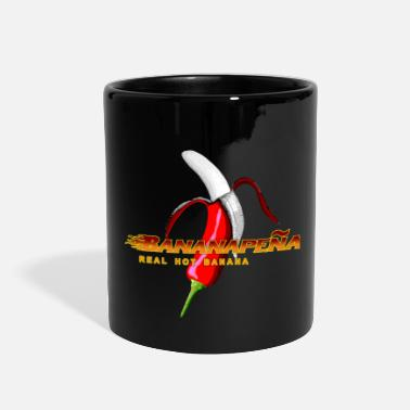 Lovely Cat &amp Red Hot Bananapenja - Full Color Mug