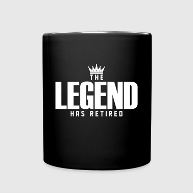 The Legend Has Retired - Full Color Mug