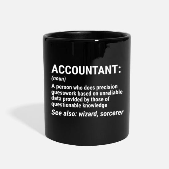 ada080cf Funny Accountant Definition Accounting T-shirt - Full Color Mug. Right.  Left. Design. Front
