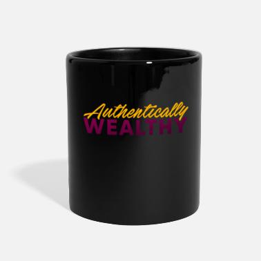 Wealthy Authentically Wealthy - Full Color Mug