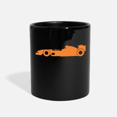 Racing Car car racing - Full Color Mug
