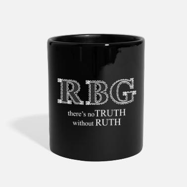 Truth Ruth Bader Ginsburg RBG Truth in Ruth White lace - Full Color Mug