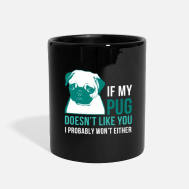 For Moms &amp My pug - Full Color Mug