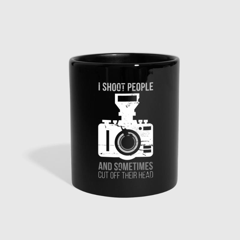 I Shoot People Photography T-shirt - Full Color Mug