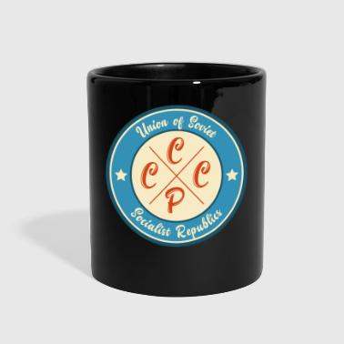 CCCP Vintage Badge - Full Color Mug
