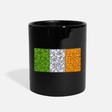 Ireland Flag Of Ireland Clovers - Full Color Mug