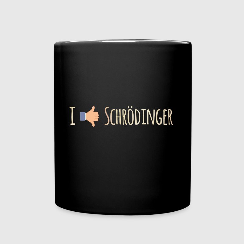 I Like / Dislike Schrödinger - Funny Physics Geek - Full Color Mug