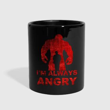 i'm always angry-red - Full Color Mug