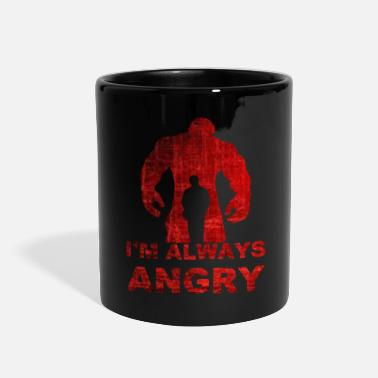 Quotes i'm always angry-red - Full Color Mug