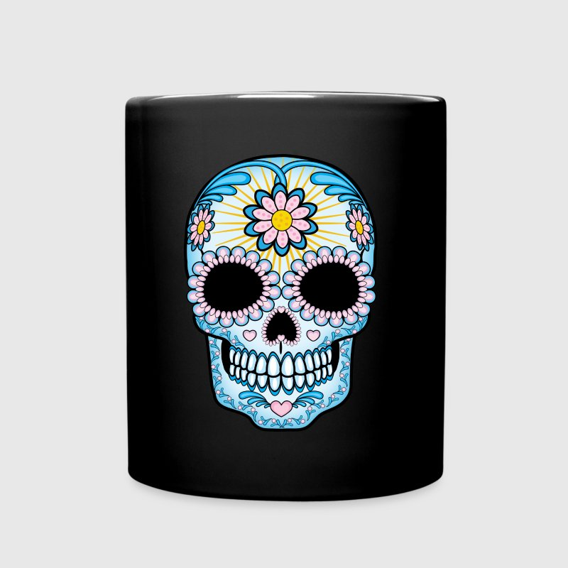 Colorful Sugar Skull - Full Color Mug