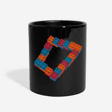 Geek optical illusion - endless steps - Full Color Mug