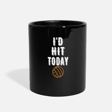 Hits Volleyball hit - Full Color Mug