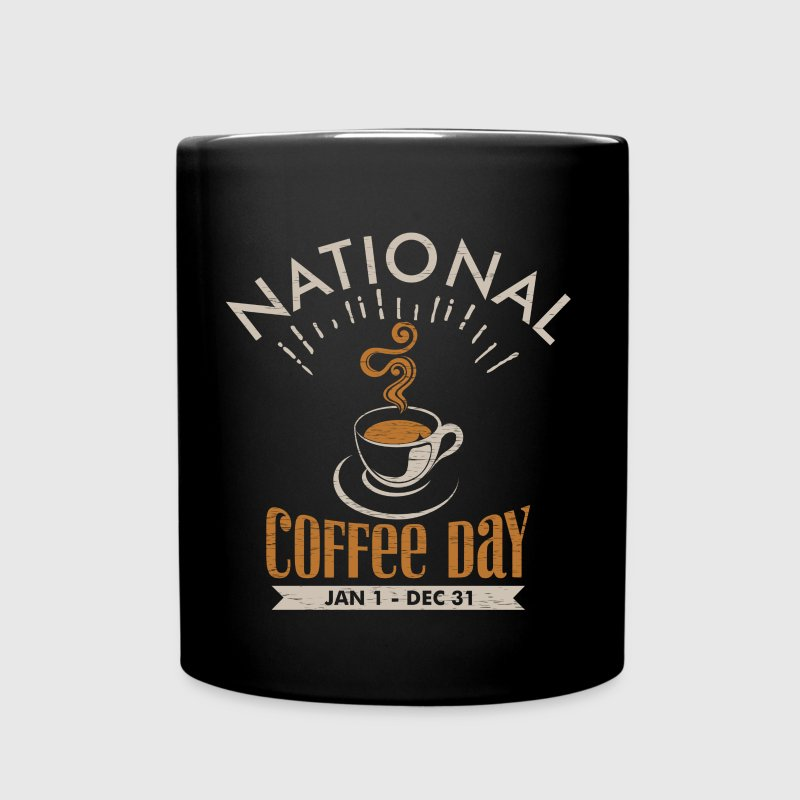National Coffee Day - Full Color Mug