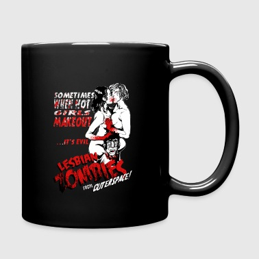Lesbian Zombie from Outer Space - Bloody - Full Color Mug