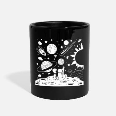 Astronaut Astronaut And Alien - Full Color Mug