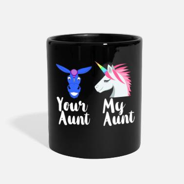 Funny Family Funny Aunt - Your My Family - Sister Kin Humor - Full Color Mug