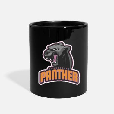 Aggressive Aggressive Panther - Full Color Mug