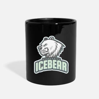 Aggressive aggressive icebear - Full Color Mug
