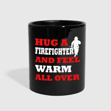 Fire Firefighters firefighter occupation fire - Full Color Mug