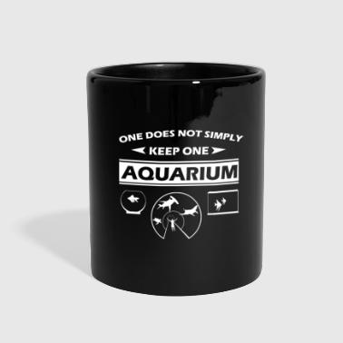 Saltwater Aquarium Lover Saltwater Fish Tank Goldfish Gift - Full Color Mug