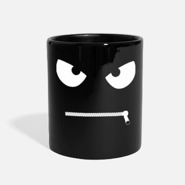 Zipper zippers face - Full Color Mug