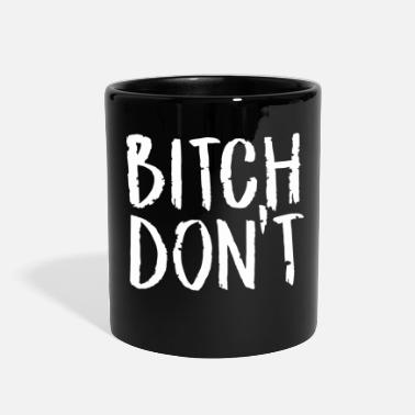 Down With Detroit Bitch Down - Full Color Mug