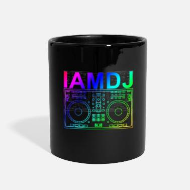 Performance I am DJ controller scratch party deejay music - Full Color Mug