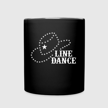 LINE DANCE STAR HAT - Full Color Mug