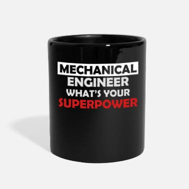 Mechanical Engineering Mechanical Engineer Mechanic - Full Color Mug