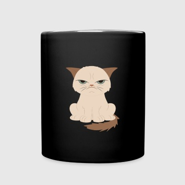 Bad-tempered cat - Full Color Mug