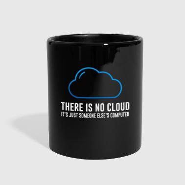 There is no cloud - Full Color Mug