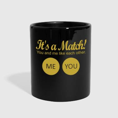 Match It's a match! - Full Color Mug