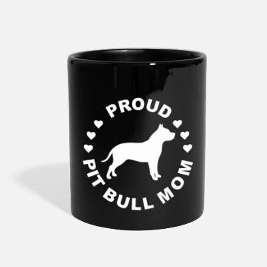 Bull Pit Bull Dog Mom Gift - Full Color Mug