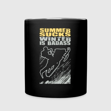 Snowmobile Summer Sucks - Full Color Mug