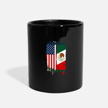 Los Angeles Half USA Half Mexican - Full Color Mug