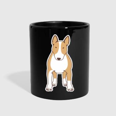 Bull Terrier FRONT color - Full Color Mug