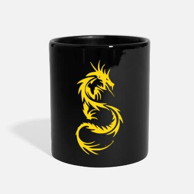Tribal Dragon - Full Color Mug