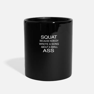 Sporty Sexy Fitness Motivation Girls Squat Ass Lift Gift - Full Color Mug